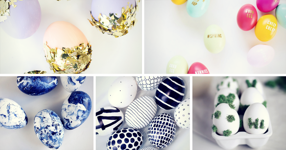 20 creative easter egg decorating ideas homelovr Creative easter egg decorating ideas