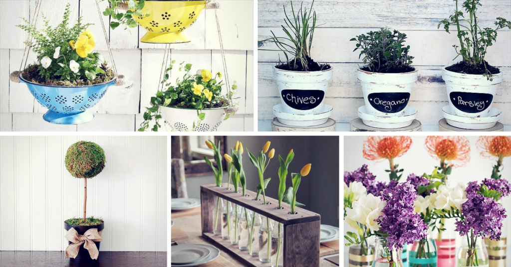 Gorgeous Spring DIY Decor & Craft Ideas
