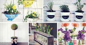 Gorgeous Spring DIY Decor & Craft Ideas