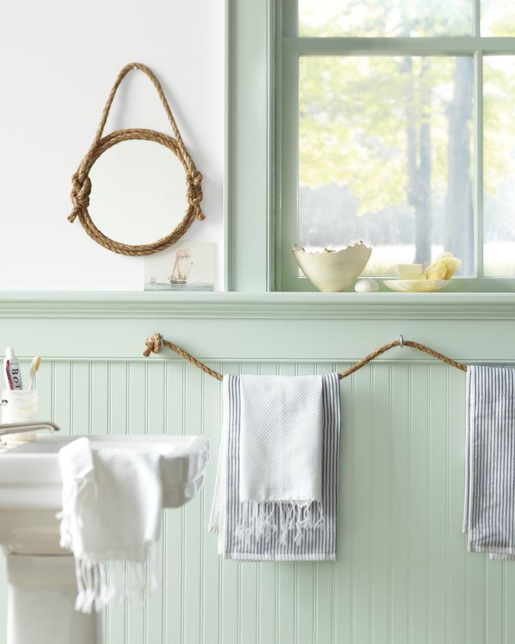 Diy Bathroom Ideas: DIY Rope Bathroom Decor Ideas – Homelovr