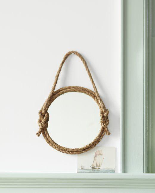 DIY Rope Bathroom Decor Ideas