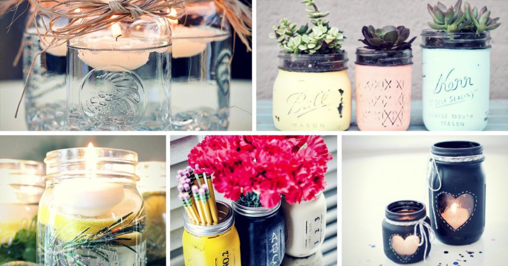 Easy Mason Jar Craft Ideas