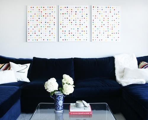 dots wall art
