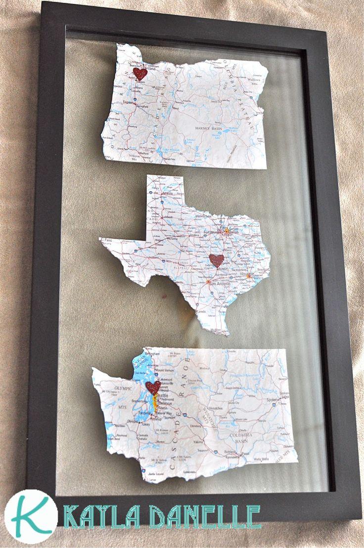 framed states art