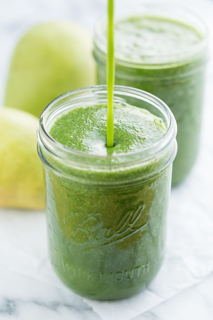 Ginger Pear Green Smoothie