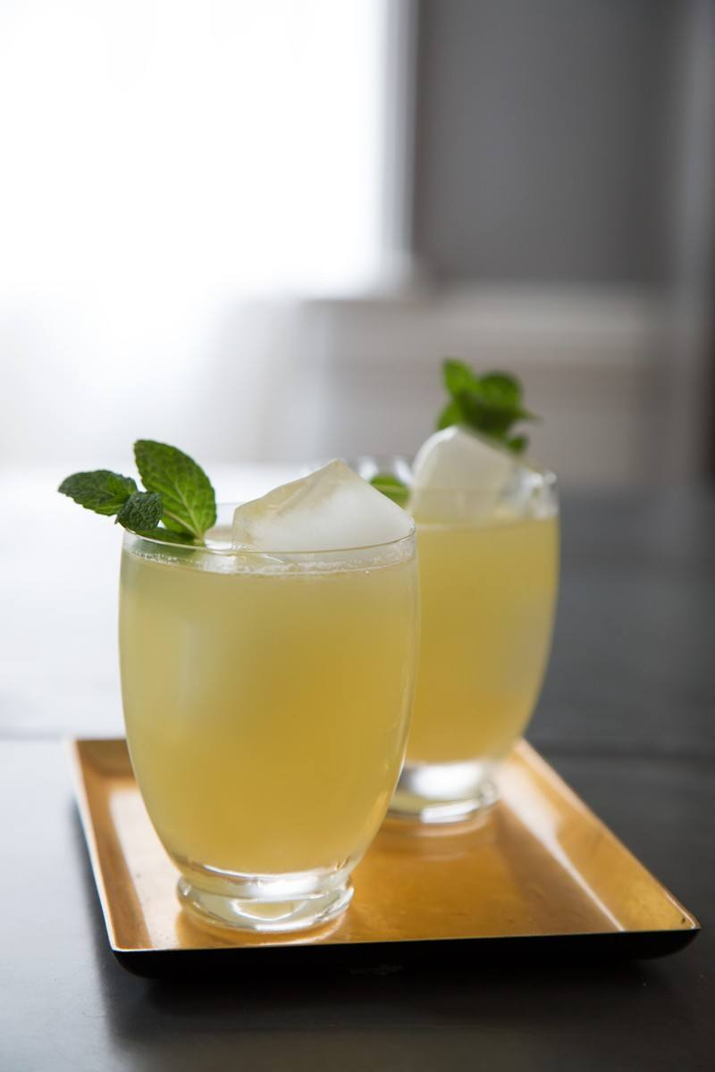 Sparkling Honey Lemon Gingerade