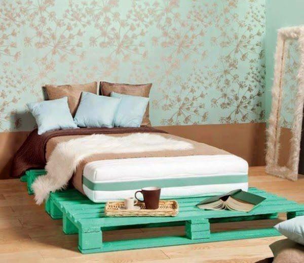 Pallets Bed