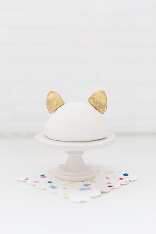 animal ear cake toppers