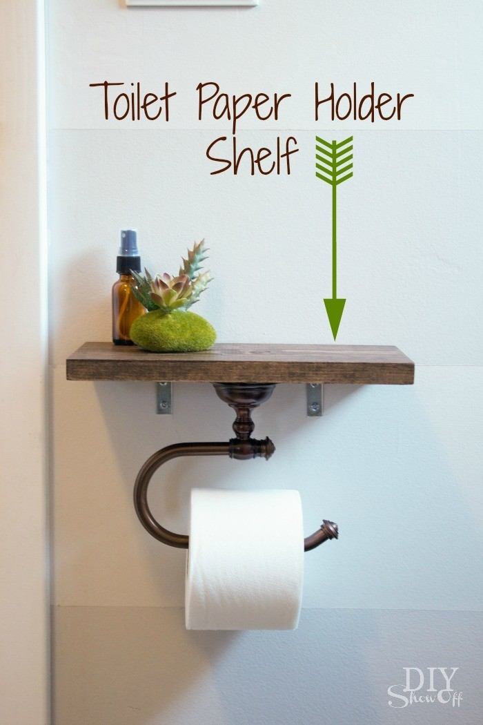 Impressive Diy Toilet Paper Holder Remodelling
