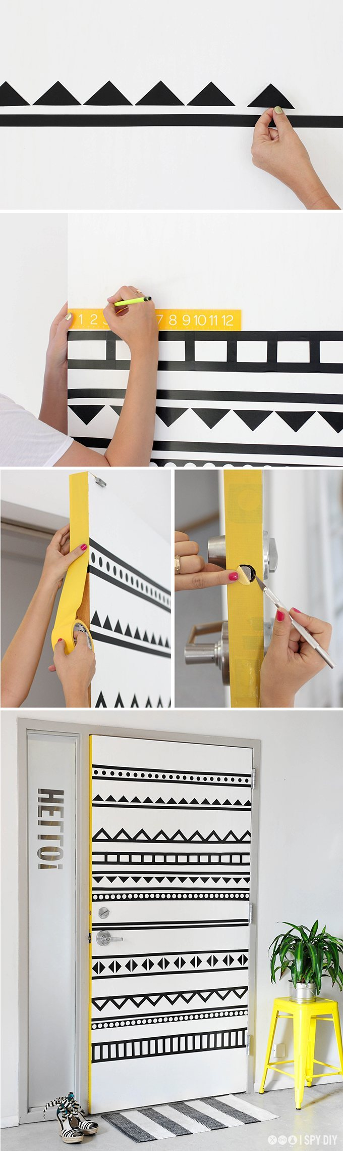 DIY Door Decorating