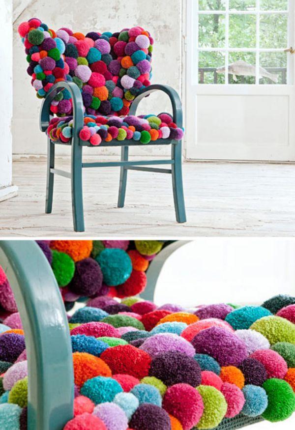 Pom Pom Chair