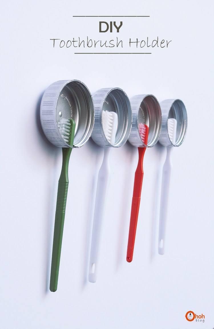 DIY Toothbrush Holders