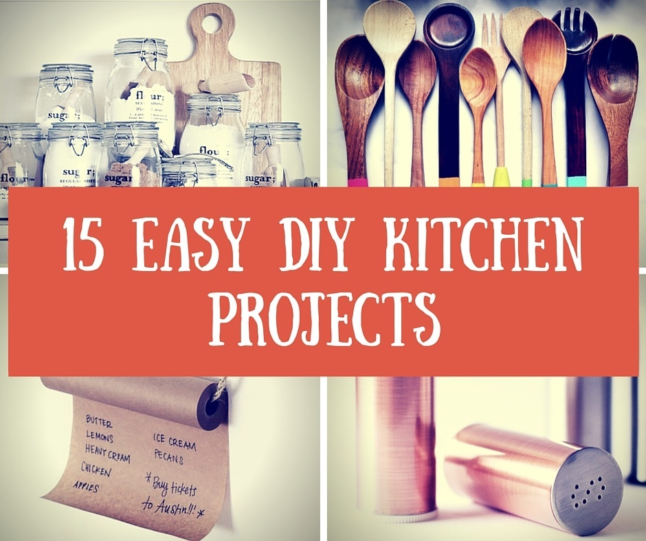 15 Easy DIY Kitchen Projects