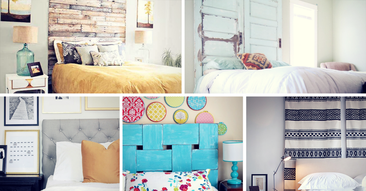 17 Cool DIY Headboard Ideas To Upgrade Your Bedroom