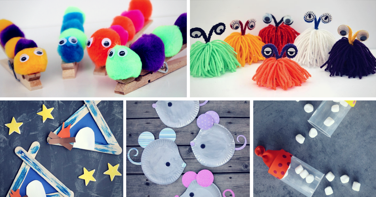 19 Easy To Make Summer Crafts For Kids Homelovr