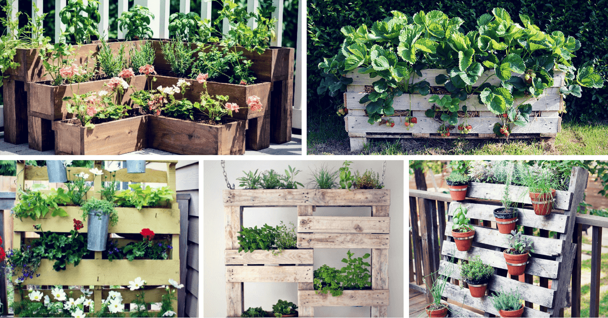 Inspiring DIY Pallet Planter Ideas