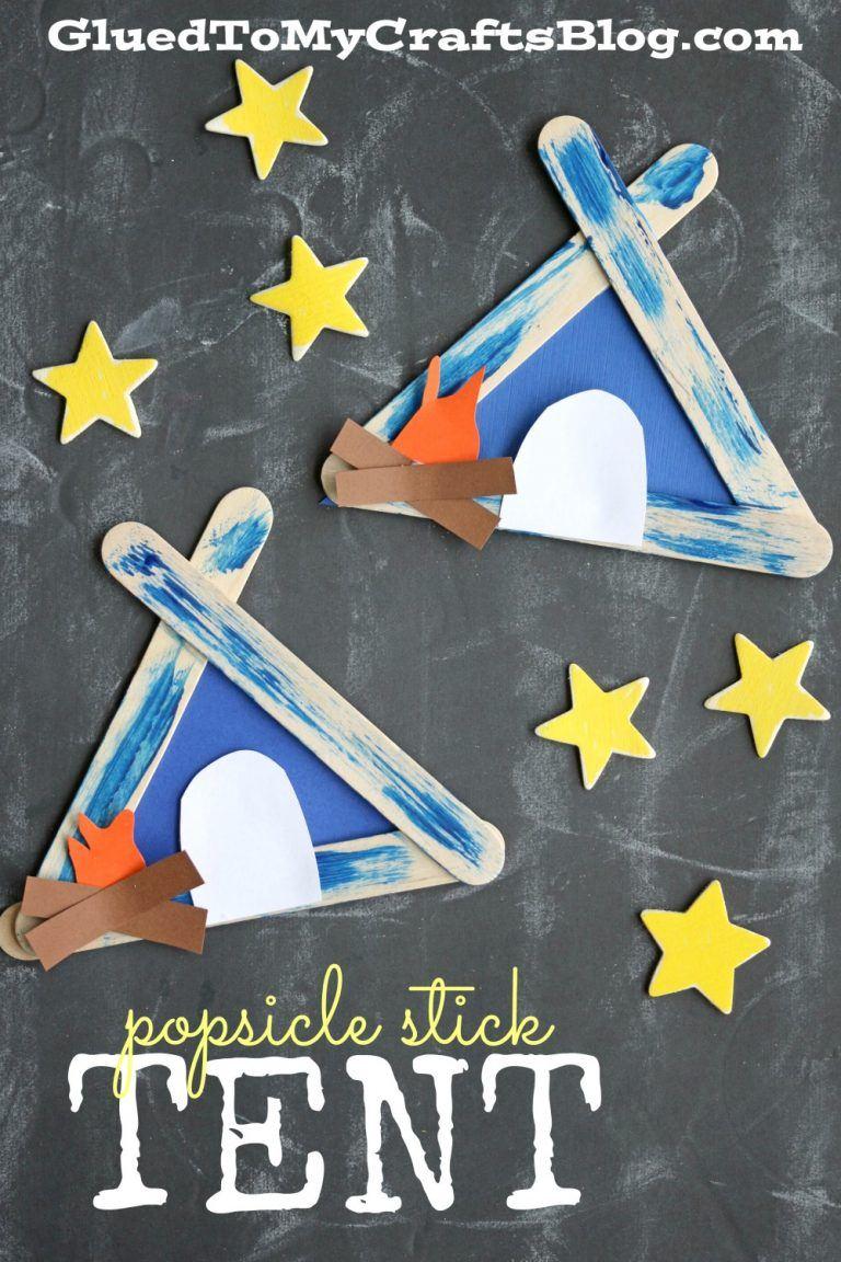 Popsicle Stick Tent