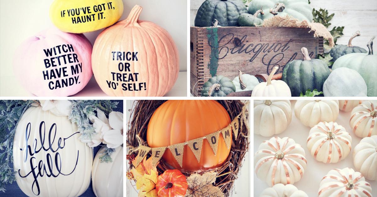 17 Cool Pumpkin Decorating Ideas Homelovr