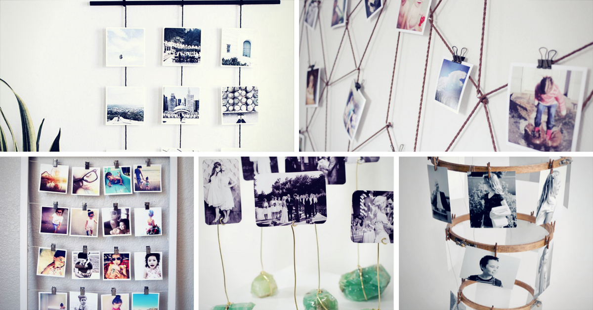 15 unique photo display ideas to bring your memories to