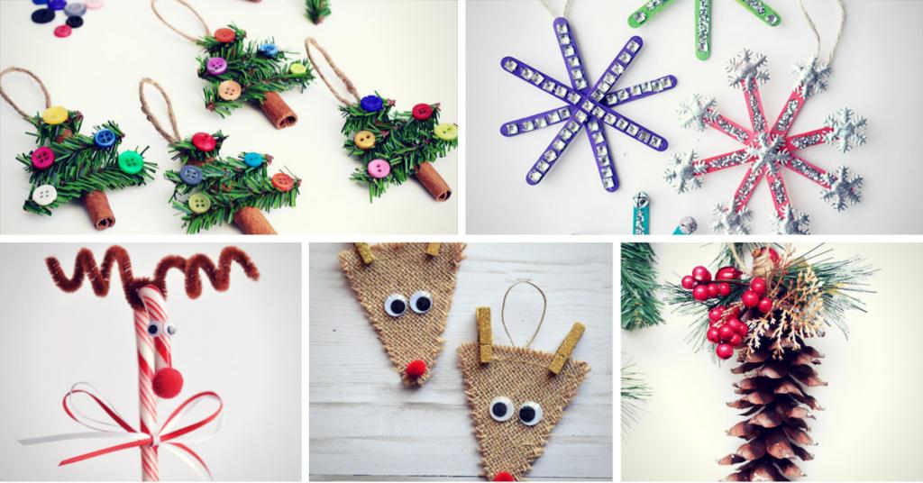 11 Easy Last Minute DIY Christmas Crafts