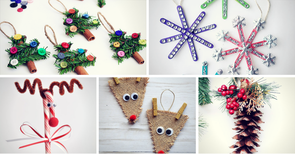 11 Easy Last Minute Diy Christmas Crafts Homelovr