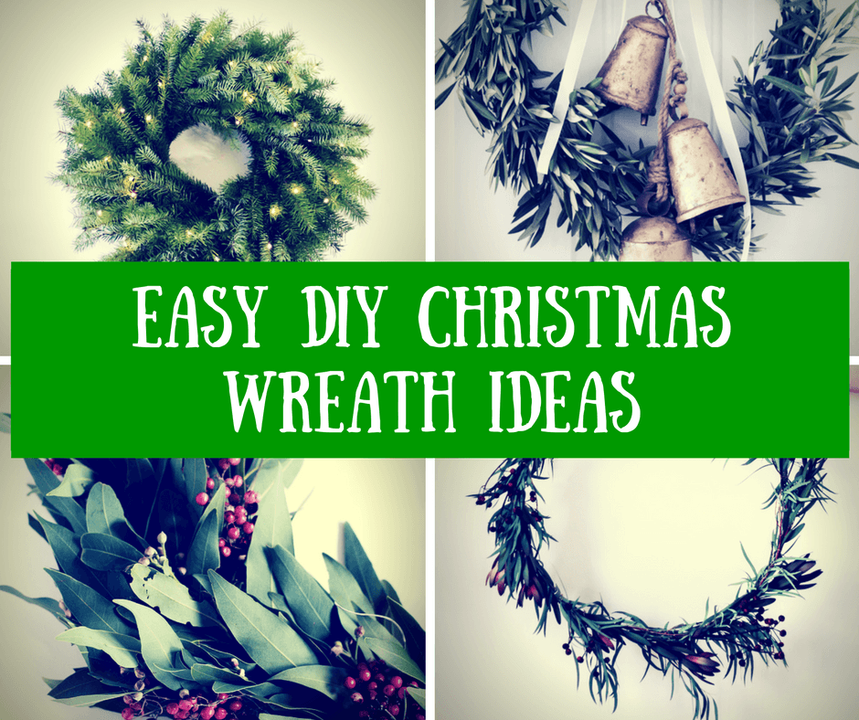 Easy Diy Christmas Wreath Ideas How To Make A Christmas