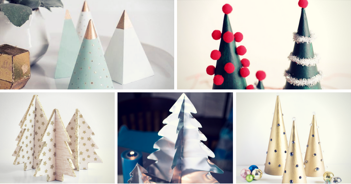 23 diy mini christmas tree decor ideas