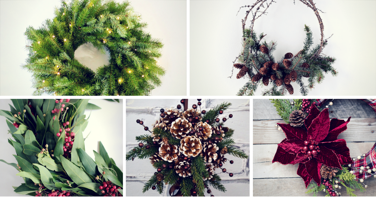 Easy Diy Christmas Wreath Ideas Learn How To Make A