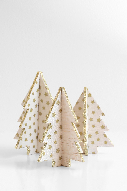 9 DIY Mini Christmas Tree Decor Ideas - Homelovr