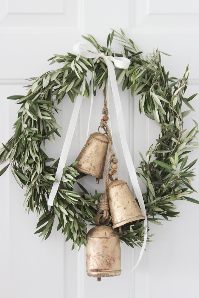 olive branch christmas wreath