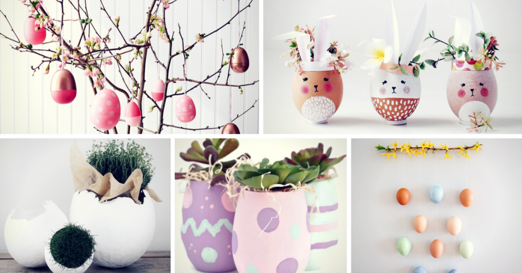 20 amazing easter decoration ideas you can make yourself for How to make easter decorations for the home