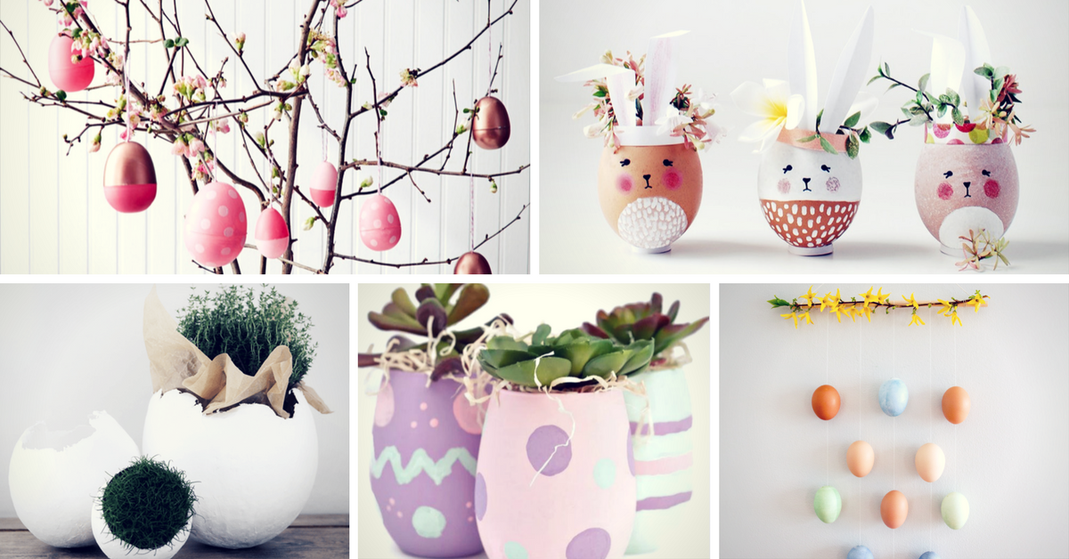 20 Amazing Easter Decoration Ideas You Can Make Yourself