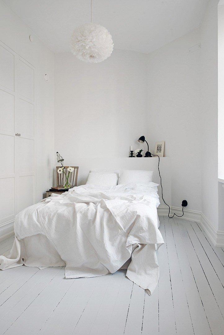 white floor - White Floor Bedroom