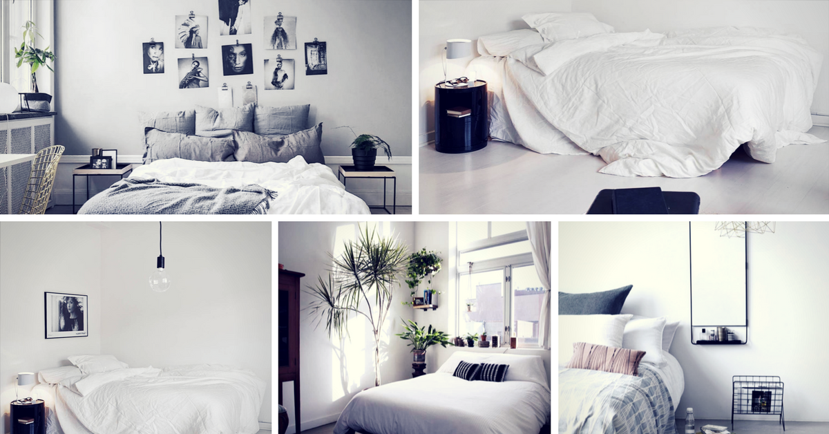 40 Minimalist Bedroom Ideas | Less is More - Homelovr