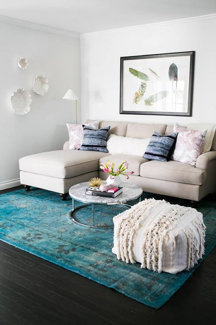 30 small living room ideas make the most of your space - Small living room colors ...