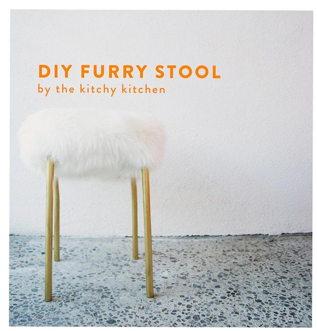 Warm Furry Stools