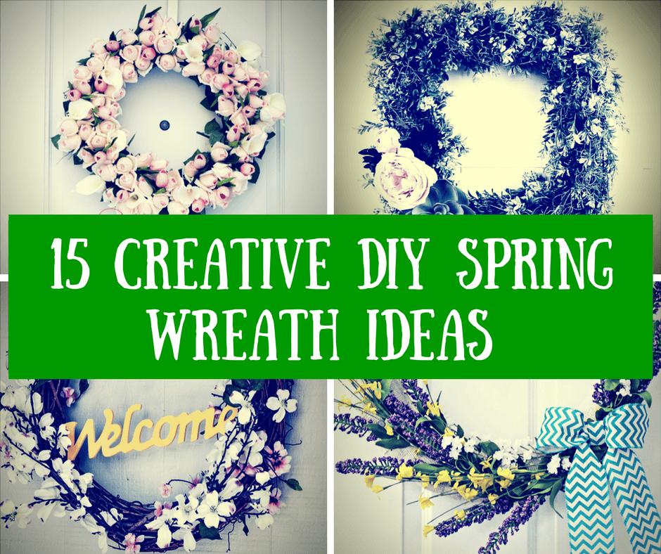 15 Creative DIY Spring Wreath Ideas to Brighten Your Home