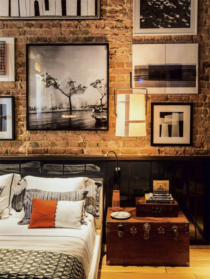 Stunning Interior Brick Wall Ideas Decorate With Exposed - Bedrooms brick walls