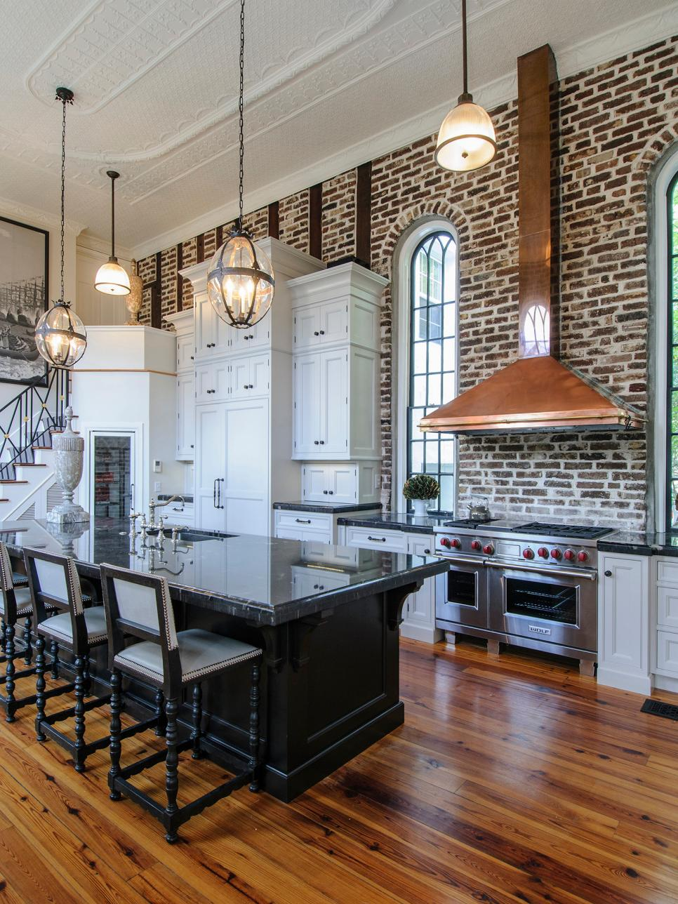 Kitchen Island Ideas Brick kitchen island brick multi million dollar penthouse in soho