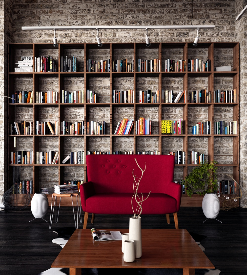 Brick Wall Library