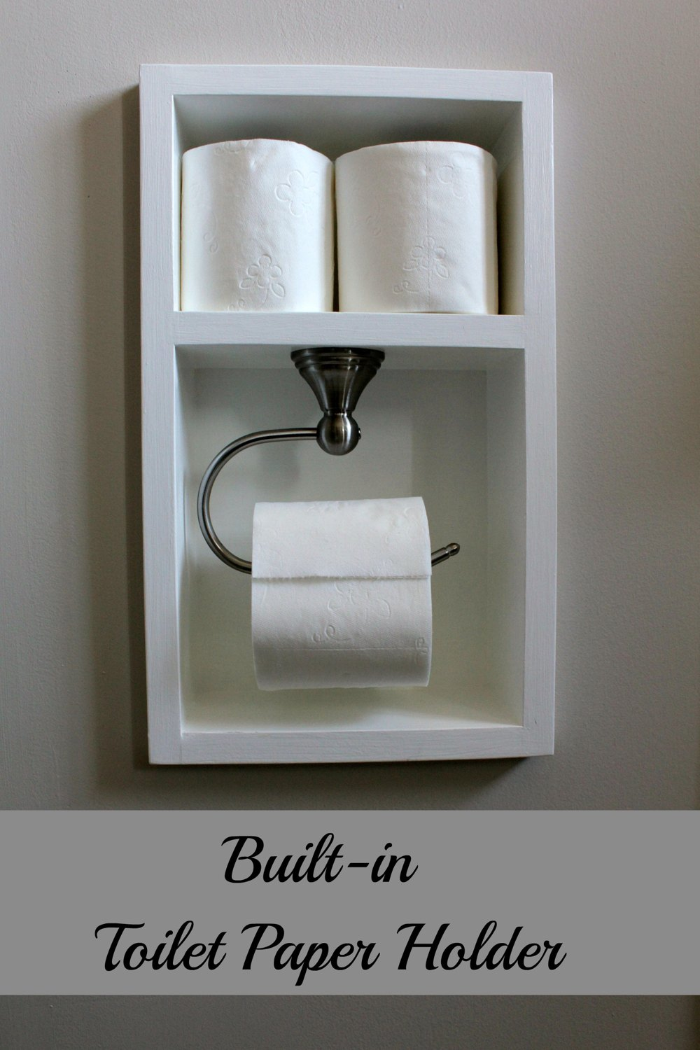 New Diy Toilet Paper Holder Model