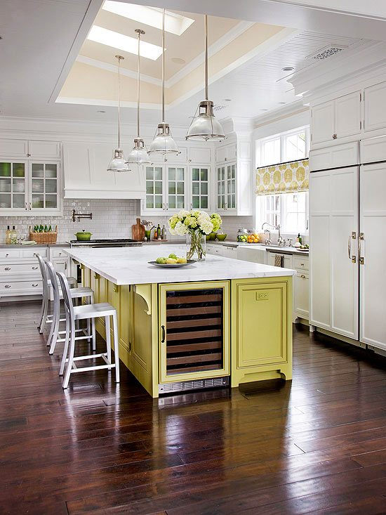 Kitchen Island Accessories 50 inspiring kitchen island ideas & designs (pictures) - homelovr