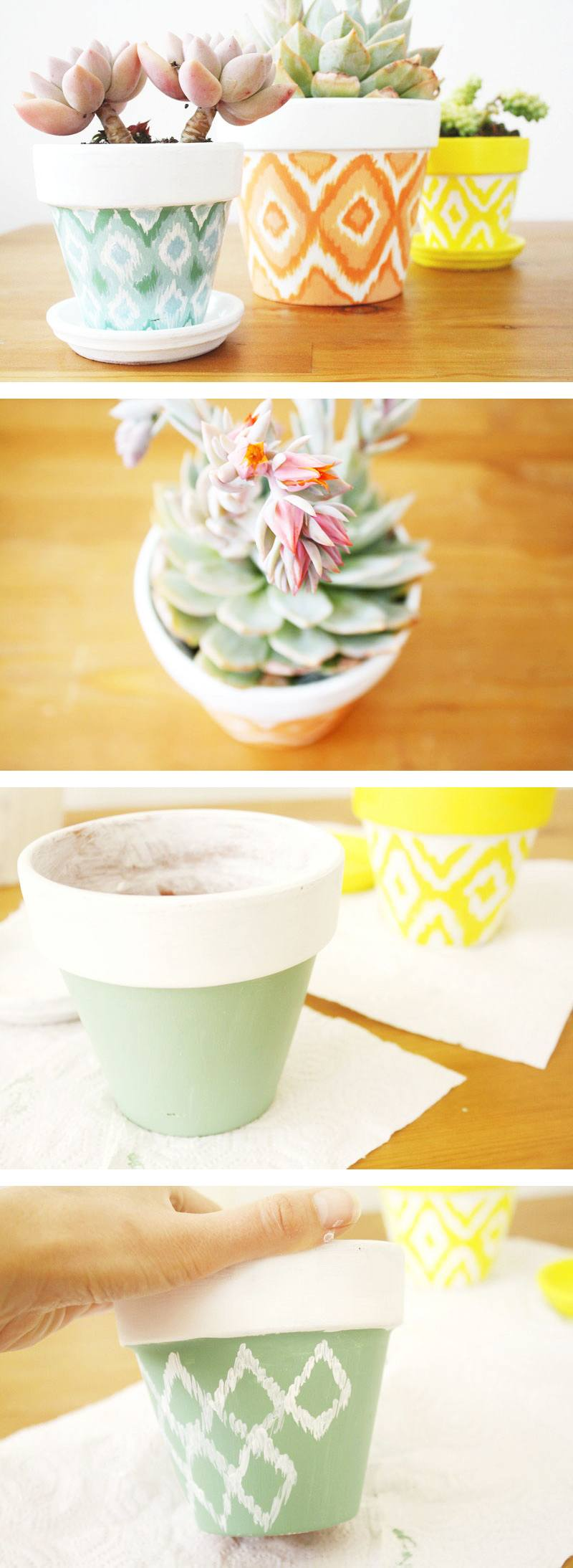 25 Simple Diy Ways To Customize Paint Terra Cotta Pots Homelovr