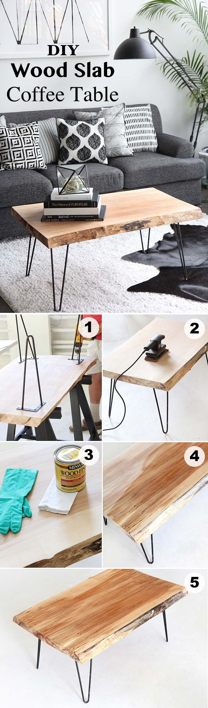15 Creative DIY Coffee Table Ideas You Can Build Yourself Homelovr