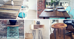 Easy DIY Tables You Can Build Yourself