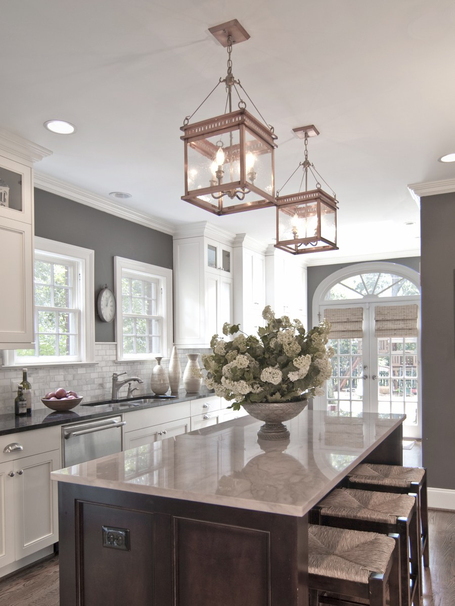 gray kitchen island 50 inspiring kitchen island ideas designs pictures homelovr 6007