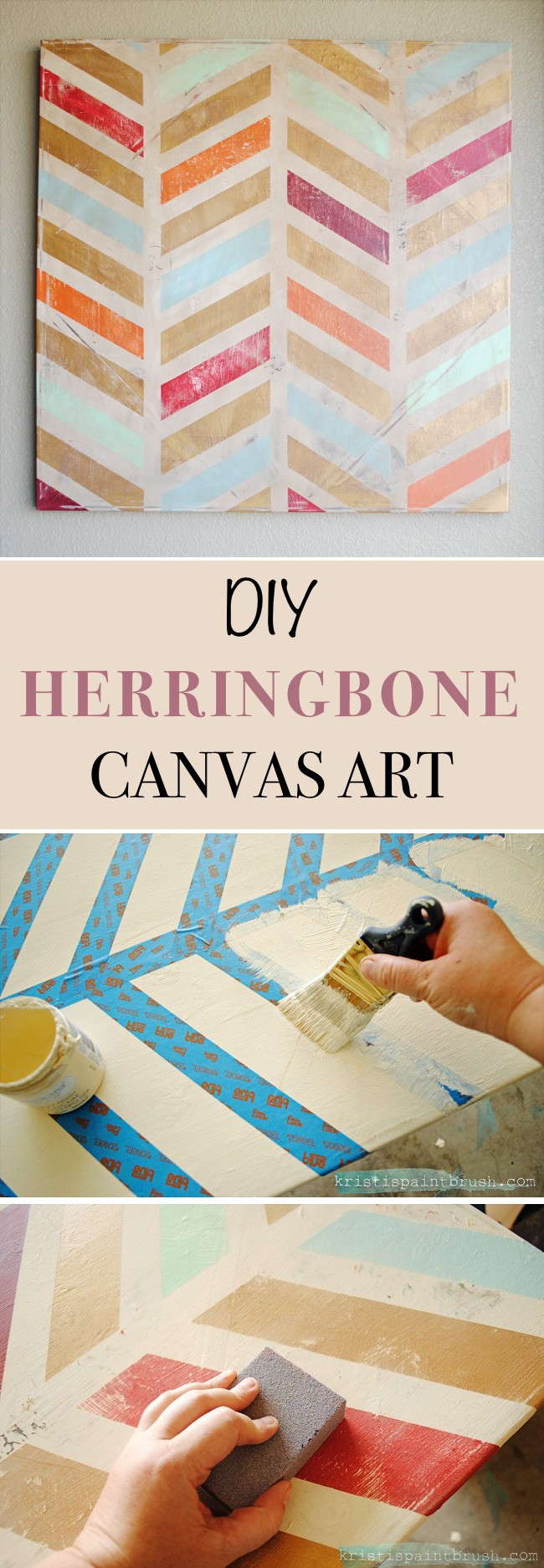 19 Simple DIY Wall Art Ideas For Your Home - Homelovr
