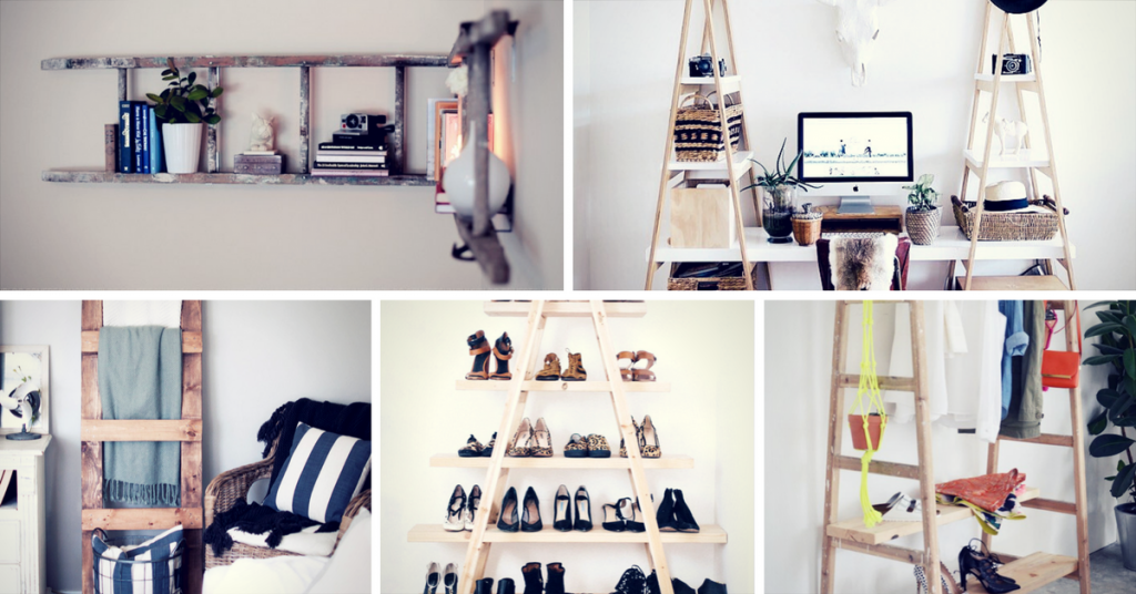 Inspiring Ladder Hacks For Every Room