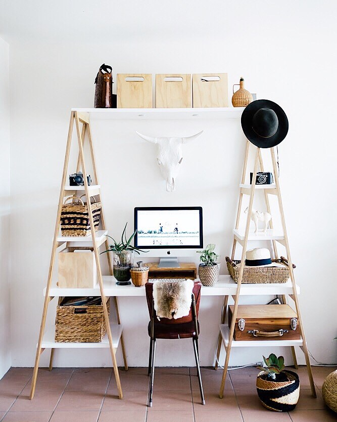 Super Cool Ladder Desk