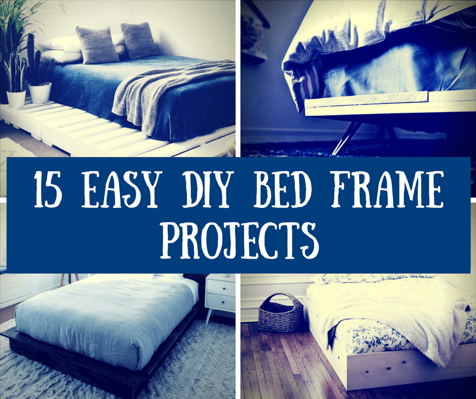 15 Easy DIY Bed Frame Projects